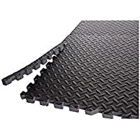 Gold's Gym High Impact Flooring 6 Pieces Puzzle Mat