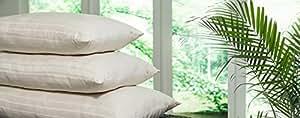 PlushBeds Luxury Wool Pillow - Handmade 100% Natural - Standard