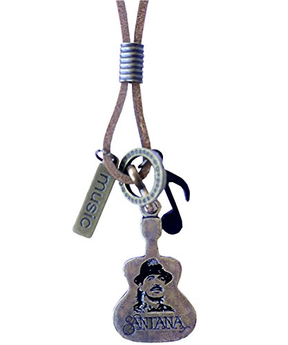 Music Musical instruments necklace, genuine leather cord Surfer jewelry for Men & Women