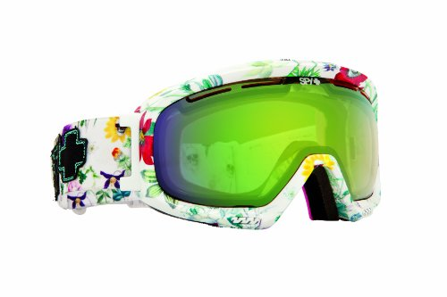 Spy Optic Bias Goggles (Flower Power 2, Bronze with Green Spectra), Outdoor Stuffs