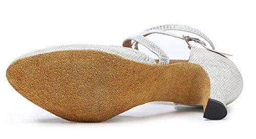 TDA - Zapatos con tacón mujer 6cm White