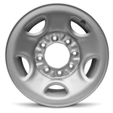 Road Ready Car Wheel For 2003-2015 Chevy Express 2500 Express 3500 1999-2014 Silverado 2500 GMC Sierra 2500 2000-2013 Suburban GMC Yukon 2500 16 Inch 8 Lug Silver Steel Rim Fits R16 Tire - Exact OEM R (Express Wheels)
