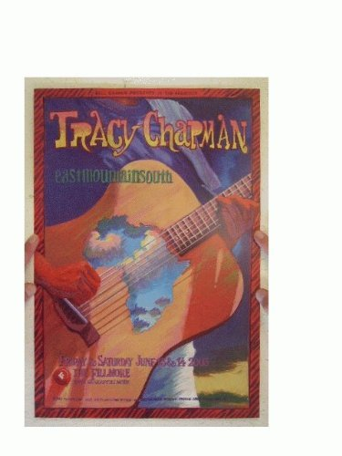 Tracy Chapman Concert Poster The Fillmore June 13 & 14, 2003 Eastmountainsouth