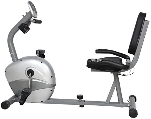 US Pride Furniture FN98011B Gym for Fitness Magnetic Recumbent Exercise Bike US Pride Corp -- DROPSHIP