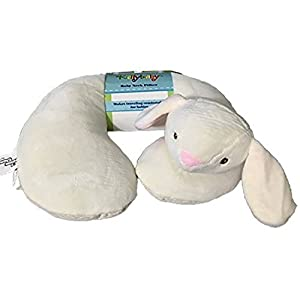 KellyBaby Cream Bunny Baby Travel Neck Pillow