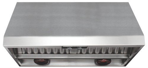 Superbe Air King P1842W 42 Inch Professional Range Hood With Warming Lights,  Stainless Steel Finish