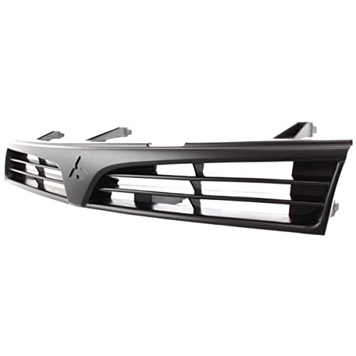 Diften 102-A5992-X01 - New Grille Assembly Grill Black Sedan Mitsubishi Mirage 2001 MI1200215 MR748059 ()