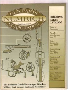 Firearms Parts Catalog: The Reference Guide For Antique, Obsolete, Military and Current Parts and Accessories, No. 23