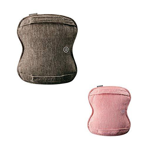 ルルド AX-HCL258 ダブルもみ マッサージクッション マッサージ器 洗える 健康器具 腰痛 肩 首 プレゼント アテックス ATEX ランキング (ブラウン(br)) B07FKZGLXJ ブラウン(br)