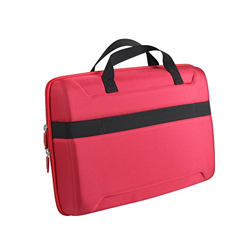 Hermitshell Hard EVA All in One Carrying Case for Osmo Creative Set and Osmo Genius Kit (Red)