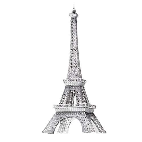Metal Earth Fascinations ICX011 502854 Eiffel Tower Construction Toy - 1 board, Ages 14 +