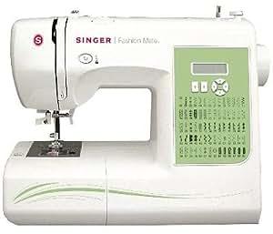 Singer Fashion Mate 7256 - Máquina de coser electrónica, color blanco