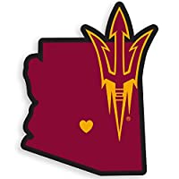 NCAA Arizona State Sun Devils Home Decal, 5 Inch