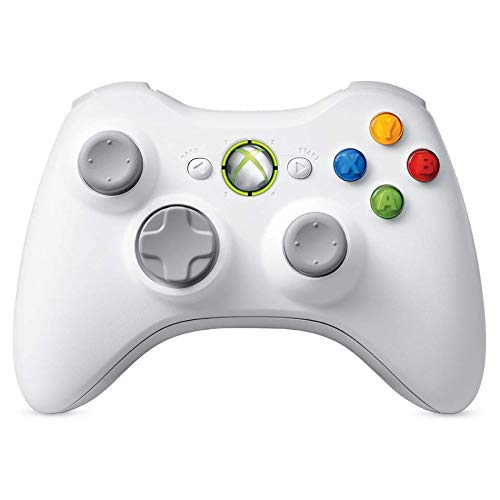 Xbox 360 Wireless Controller - White (Certified - 360 Controller Modded Xbox Red