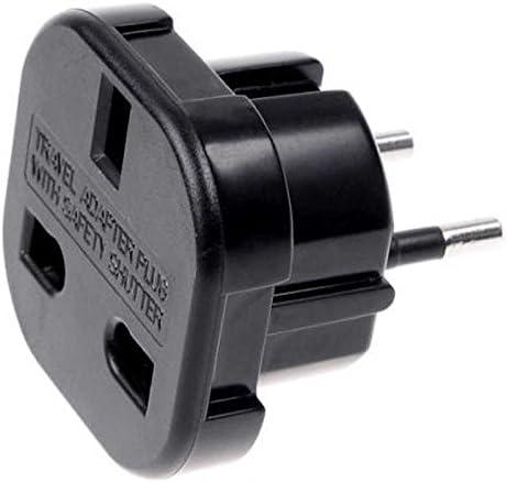 OcioDual Adaptador Enchufe 3 Pin UK Inglés Reino Unido Tipo G a 2 ...