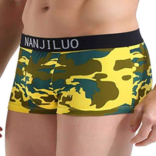 Scialle Uomo Traspirante Boxer Pantaloncini Armygreen Cotone Da 20 Morbido In Stampato Elodiey Con Anni fnPtwqYY