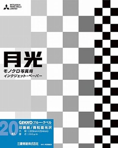 GEKKO inkjet paper monochrome fine surface gloss type blue label A3 + 20 sheets of GKB-A3 + / 20 (japan import)