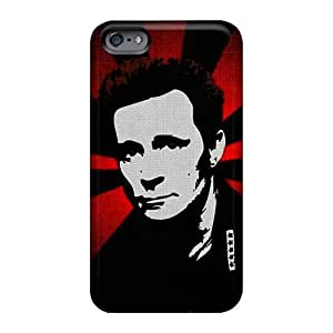 Scratch Protection Hard Phone Cases For Iphone 6 With Support Your Personal Customized Vivid Green Day Pictures RichardBingley