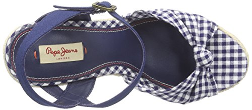 Pepe Jeans Walker Tubular - Sandalias Mujer Azul - Blau (580SAILOR)