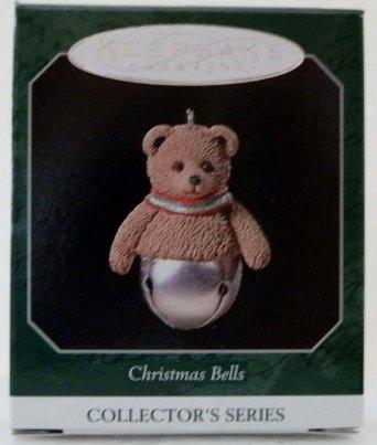 Hallmark Keepsake Ornament Christmas Bells Collector's Series 1998 QXM4196