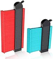2 Pack Wider Contour Gauge Duplicator,CHARMINER Profile Gauges,Copy Irregular Shapes Measuring for Corners and Contoured...