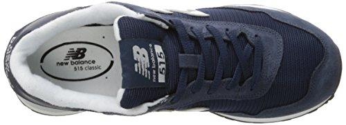New Balance, Sneaker uomo grigio Grey, blu