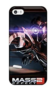 For Iphone 5/5s Tpu Phone Case Cover(mass Effect 2)