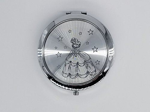 12xQUINCEANERA SLIVER COMPACT MIRRORS PARTY FAVORS SWEET15/Mis 15 Años/Quince]()