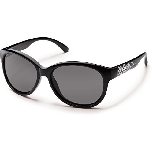 Suncloud Catnip Polarized Sunglasses, Black - Small Sunglasses Suncloud For Faces