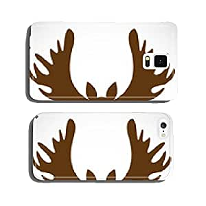 Vector image of an deer head on a white background cell phone cover case iPhone6 Plus