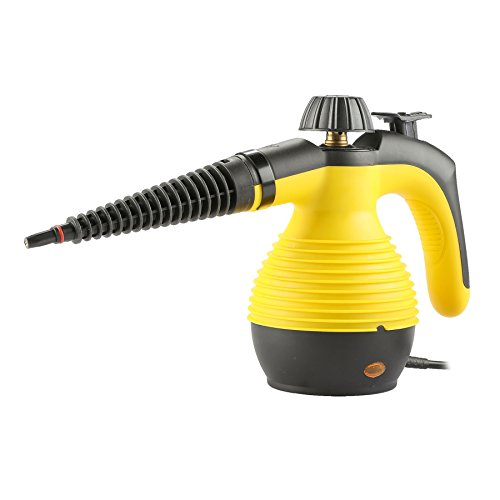 Ssc Cap - CO-Z Handheld Pressurized Steam Window Cleaner 10oz./300ml Large Tank & 10FT Power Cord & 9-Piece Accessories for Stain Removal, Carpets, Curtains, Car Seats, Kitchen Surface