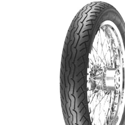 Pirelli MT66 Route Tire - Front - 90/90H-19 , Position: Front, Tire Size: 90/90-19, Rim Size: 19, Load Rating: 52, Speed Rating: H, Tire Type: Street, Tire Application: Cruiser 0800900