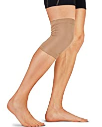 Tommie Copper Knee Sleeve, Nude, Small