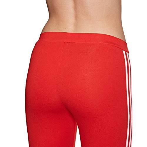 Stripes Leggings Originals 3 Red Tight Adidas Active Womens w0v14E4qg