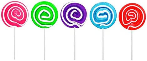 Carlie 2Pcs//Pack 12-Capacity Silicone Lollypop Mold With 100Pcs//Pack Sucker S...