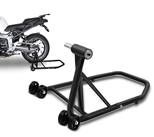 ConStands Rear Paddock Stand Triumph Speed Triple/ R 97-18 black mat, Single Swing Arm, adaptor incl.