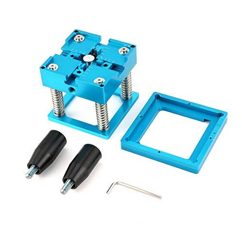 Meatl BGA Reballing Station Reball Kit Magnetism Lock Universal Stencil Solder Ball Rework Table Plant Universal