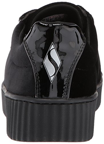 Para Negro Mila Velvet Mujer Women'sMila Terciopelo Street Skechers wgq788