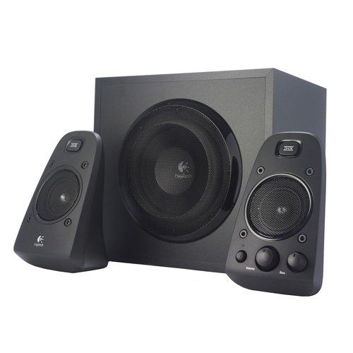 Logitech Z623 Soundsysteme 2.1 Stereo-Lautsprecher THX (mit Subwoofer und 400Watt für PC) schwarz