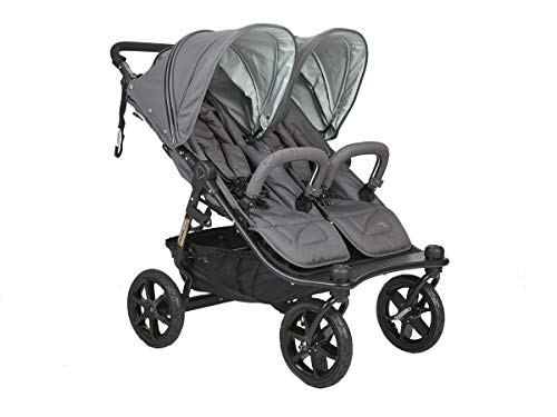 Valco Duo X Double Stroller in Dove Grey