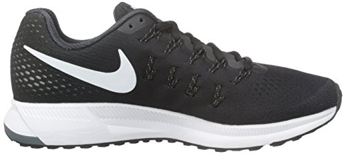 Donna Wmns White Nike Nero Scarpe Black Air Zoom Pegasus Grey cool Corsa da anthracite 33 84HfFq41
