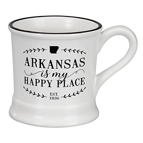 Occasionally Made O-HSS-MUG-AR 14 oz Arkansas Ceramic Mug