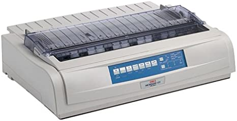 62418701 Okidata Microline 420 Dot Matrix Printer