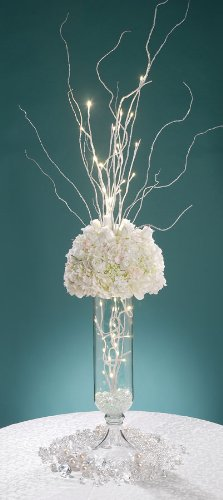 David Tutera LED Lighted Branch - White - 31.5 inches by Darice