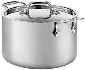 Amazon.com: All-Clad BD552043 olla para sopas de acero ...