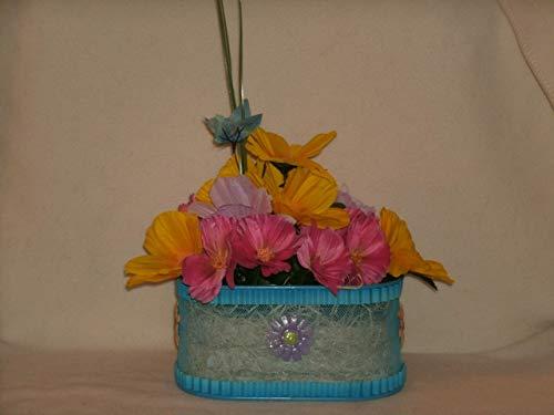 The Unique Gift Boutique-Spring Glory Silk Cloth Floral Arrangement