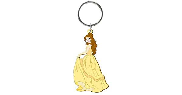 Amazon.com: Disney Belle Soft Touch PVC Llavero: Toys & Games