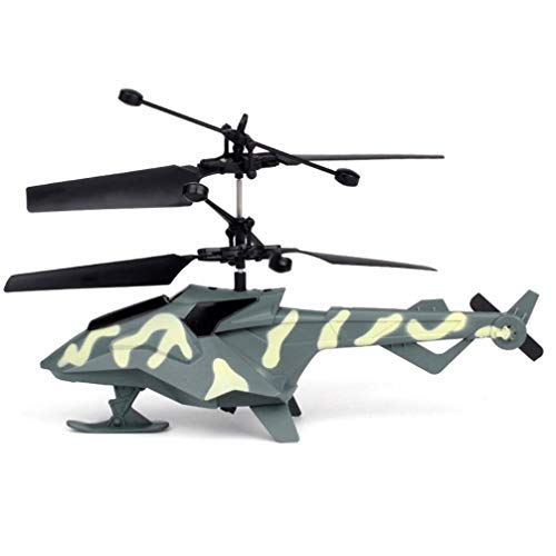 KpopBaby Cool Mini RC Infrared Remote Control RC Toy 2CH Gyro Helicopter RC Drone Kid by KpopBaby