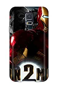 Cute High Quality Galaxy S5 Iron Man 2 Widescreen Case