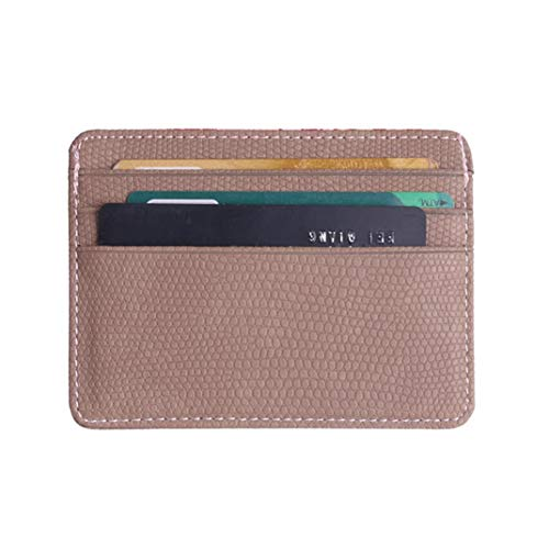 Package Kanpola Coin Blue Bank Card Lichee Fashion Bag Women Holder Pattern Khaki Fx0YFr